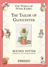 【THE TAILOR OF GLOUCESTER】  Beatrix Potter(F.WARNE&CO 千趣会版)