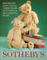 【Sotheby's 玩具・DOLL・テディベア・オートマタ・メカニカルミュージック オークションカタログ】