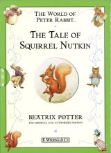 【THE TALE OF SQUIRREL NUTKIN】  Beatrix Potter(F.WARNE&CO 千趣会版)