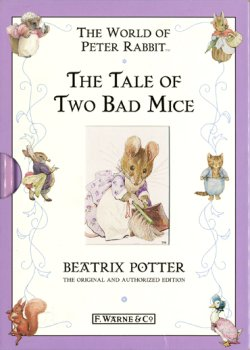画像1: 【THE TALE OF TWO BAD MICE】  Beatrix Potter(F.WARNE&CO 千趣会版)